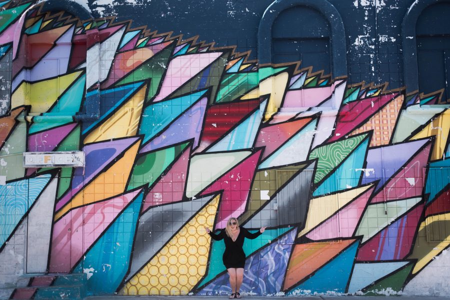 The Most Instagramable Places  Wall Murals in Las Vegas