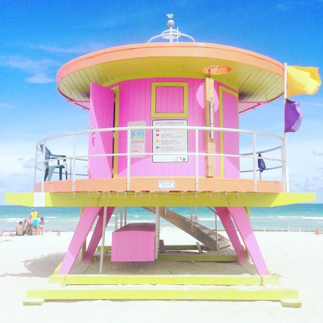 lifeguard tower miami