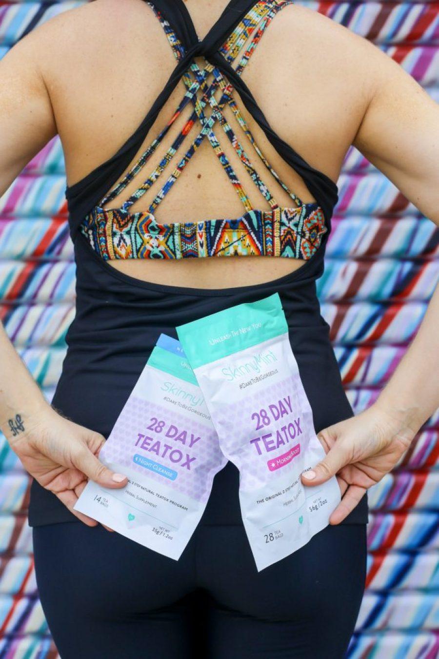 skinny mint tea fitness health