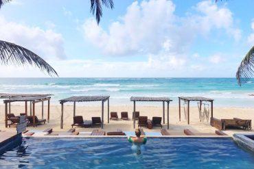 Amansala eco chic resort Tulum Mexico travel blogger