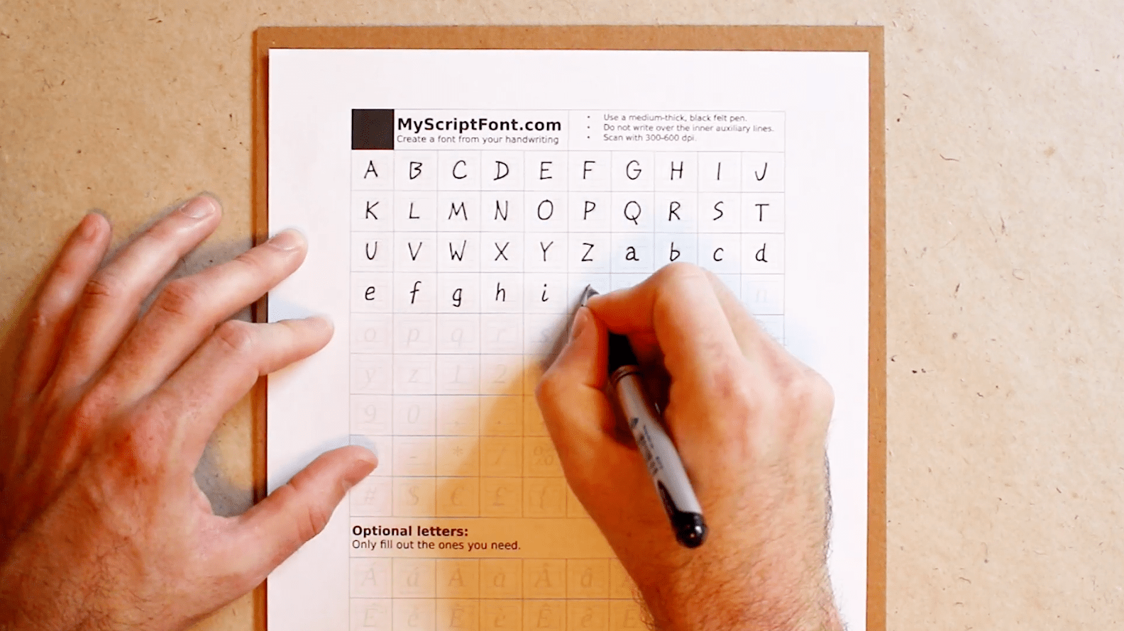 Create A Computer Ready Font From Your Own Handwriting