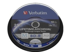 Verbatim M-Disc BD-R 10er-Pack, Spindle