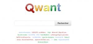 Accueil Qwant
