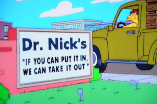 """100 Funny Signs From Around Springfield On """"The Simpsons"""
