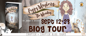 Poppy Mayberry, The Monday by Jennie K. Brown: Blog Tour + Giveaway + Interview: Magical Mondays, Powerless Saturdays, and a Dash of Shakespeare