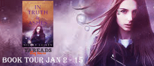 Blog Tour + Book Review + Giveaway: Through Fire And Sea by Nicole Luiken: Three Worlds, Two Girls, 1 Extraordinary Story