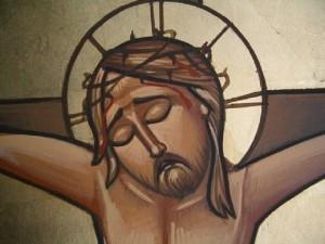 CopticIconCrucifixionDetail