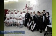 Mons.Sacchi in visita all'Artusi di Casale Monferrato