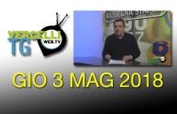 TG – Gio 3 Mag 2018