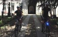 Vercelli: i Vigili in bicicletta.