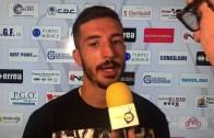 Pro Vercelli-Carrarese 3-1: Claudio Morra, attaccante Pro Vercelli