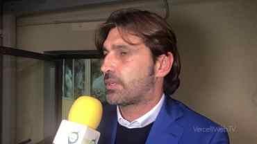 Pro Vercelli-Novara 1-1: William Viali, allenatore Novara