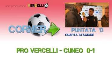 Corner 2018/2019, Pro Vercelli – Cuneo 0-1