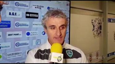 Pro Vercelli – Olbia 1-1: Giorgio Carboni, allenatore Olbia