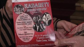 """Vercelli: Kabarett, con """"Il Porto"""", 24/27 gennaio"""