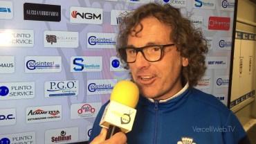 Pro Vercelli – Pro Patria 0-0: Vito Grieco, allenatore Pro Vercelli