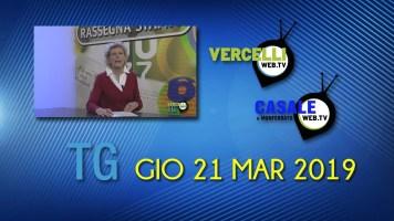 TG – Gio 21 Mar 2019
