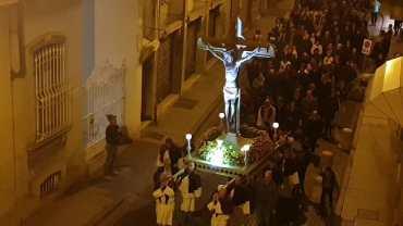 Vercelli: la processione del Venerdì Santo