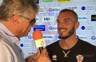 Pro Vercelli – Pergolettese 0-0: Simone Moschin, portiere Pro Vercelli