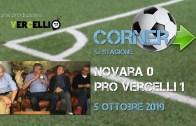 Corner 2019/2020, Novara – Pro Vercelli 0-1