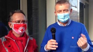 Vercelli: la Croce Rossa termina la sua attività presso la Casa di Riposo