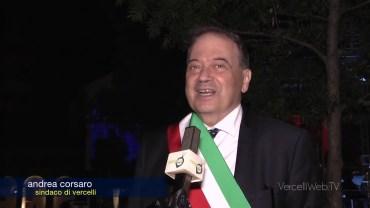 """""""Bentornata Vercelli"""" – Andrea Corsaro, sindaco di Vercelli"""