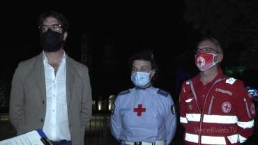 """""""Bentornata Vercelli"""", il supporteo della Croce Rossa nella lotta al covid"""