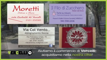Shopping a Vercelli – video 3