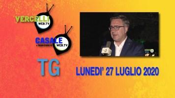 TG – Lunedì 27 luglio 2020