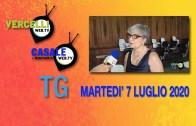 TG – Venerdì 31 luglio 2020