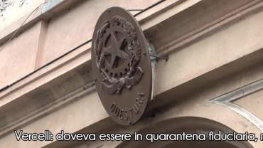 Vercelli: doveva essere in quarantena fiduciaria ma era al lavoro al bar; denunciato lui e chiuso il locale.