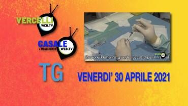 TG – Venerdì 30 aprile 2021