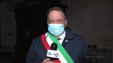 Vercelli: il sindaco Corsaro augura Buona Pasqua