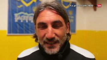 Calcio: Carrarese – Pro Vercelli 0-0 (interviste)