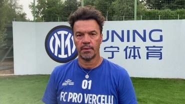 Amichevole Pro Vercelli – Inter 0-4 (interviste a Scienza e Masi)