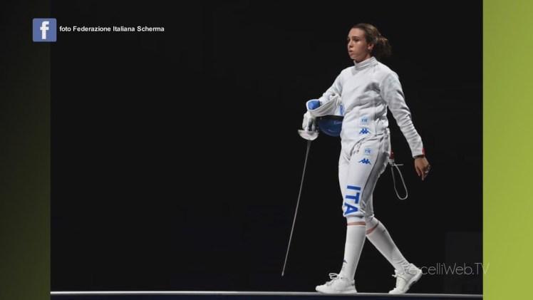 Vercelli, Federica Isola medaglia di bronzo con la squadra italiana nella spada femminile a Tokio.