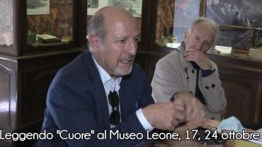 """Vercelli: Leggendo """"Cuore"""" al Museo Leone, 17, 24 ottobre e 7 novembre"""