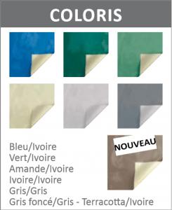 Couverture a barres couleur