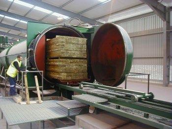 Le traitement autoclave du bois vercors piscine - Bois autoclave classe 4 ...