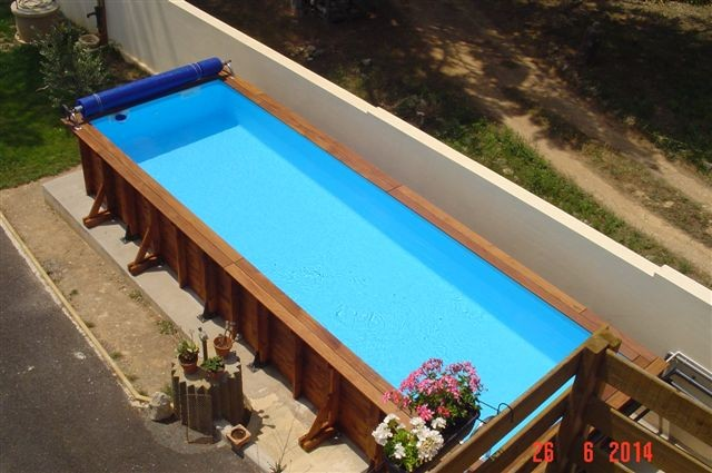 Couloir de nage vercors piscine for Piscine hors sol nage contre courant