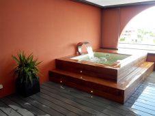 Mini piscine en bois Vercors Piscine