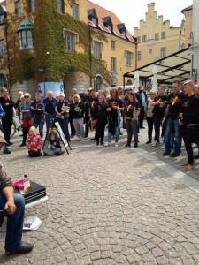 """Almedalspubliken applåderade """"Bänken"""" och vi fick många nya medlemmar. Välkomna till Verdandi!"""