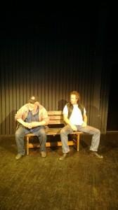 """Pjäsen """"Bänken"""": Skådespelarna Jan-Erik Emretsson och Dan Nerenius samtalar om varför livet blev som det blev."""