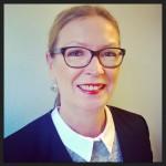 Samtalsledare: förbundsordförande Helena Frisk