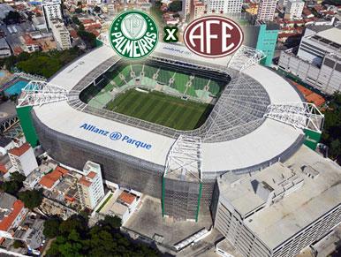 Palmeiras x Ferroviária - pré-jogo