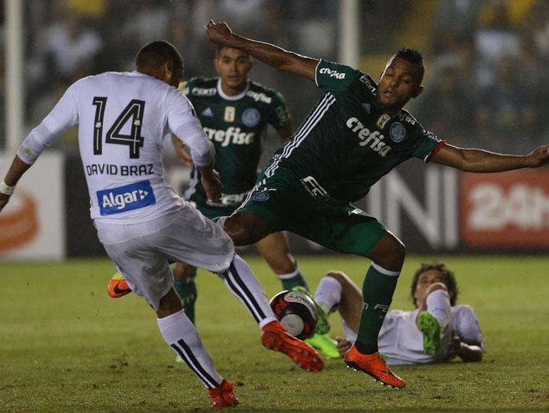 Santos 1x2 Palmeiras