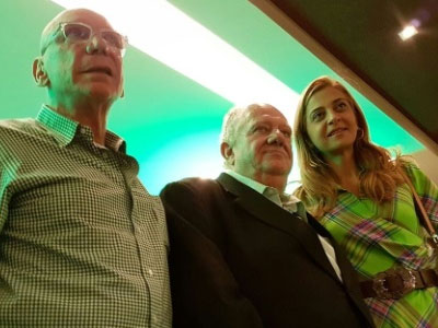 Lamacchia, Mustafá e Leila Pereira