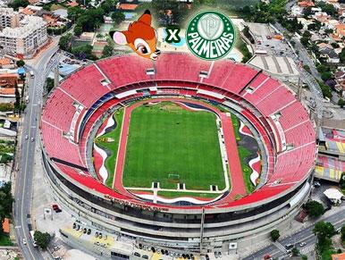 Pré-jogo SPFC xPalmeiras