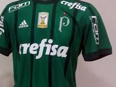 Palmeiras coloca estrela vermelha na camisa para celebrar o Mundial de 1951 21ee7c494180e