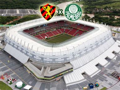 Pré-jogo Sport x Palmeiras